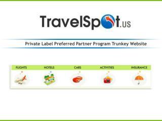 Private Label Preferred Partner Program Trunkey Website