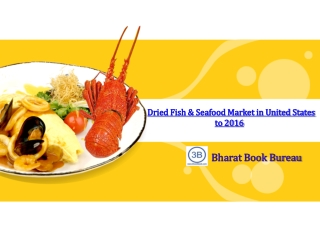 Dried Fish & Seafood Market in United States to 2016