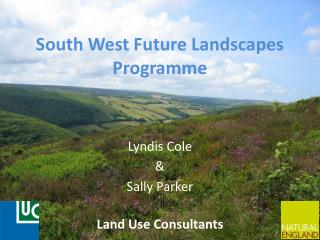 South West Future Landscapes Programme