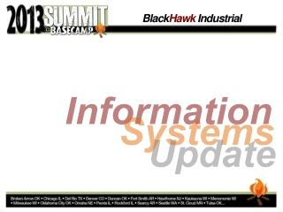 BHID 2013 Information Technology - Stephen