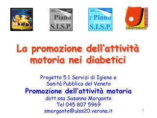 La promozione dell attivit  motoria nei diabetici