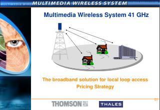 Multimedia Wireless System 41 GHz