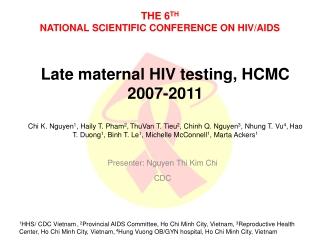 Pediatric HIV