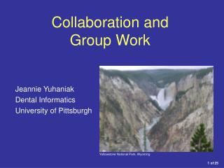 Collaboration and  Group Work