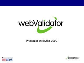 Pr sentation f vrier 2002