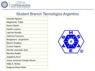Student Branch Tecnol gico Argentino
