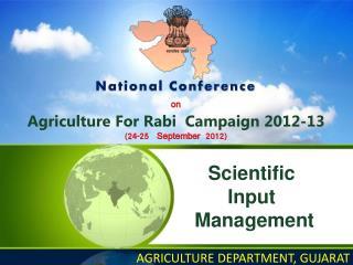 Scientific  Input  Management