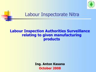 Labour Inspectorate Nitra