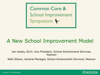 A New School Improvement Model