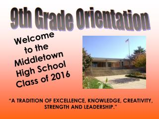 A tradition of excellence, knowledge, creativity, strength and leadership.