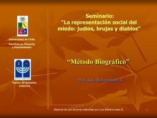 Prof. Luis Bahamondes G