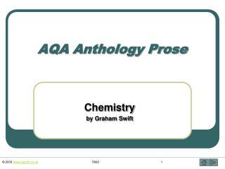 AQA Anthology Prose