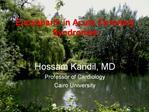 Enoxaparin in Acute Coronary Syndromes