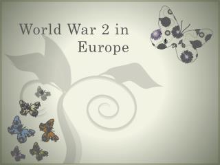 World War 2 in Europe
