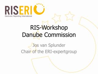 RIS-Workshop Danube Commission
