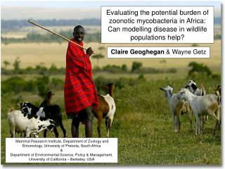 Evaluating the potential burden of zoonotic mycobacteria in Africa: Can modelling disease in wildlife populations help