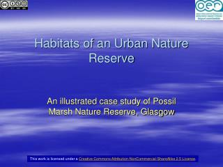 Habitats of an Urban Nature Reserve