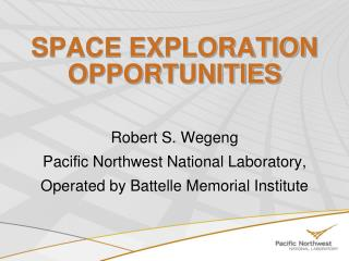 SPACE EXPLORATION OPPORTUNITIES