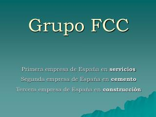 Grupo FCC