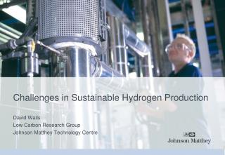 Challenges in Sustainable Hydrogen Production