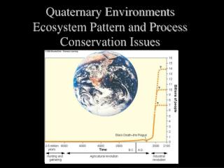 Quaternary Environments Ecosystem Pattern and Process Conservation Issues