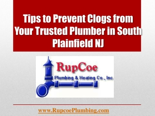 Tips to Prevent Clogs from Your Trusted Plumber