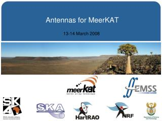 Antennas for MeerKAT
