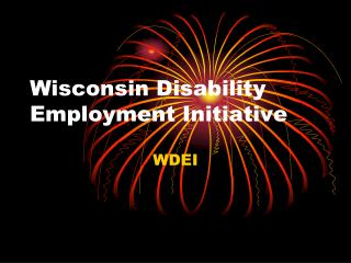 Wisconsin Disability Employment Initiative