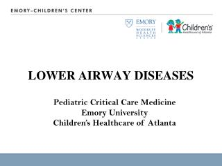 LOWER AIRWAY DISEASES