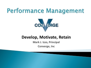 Performance Management: Improving the Process