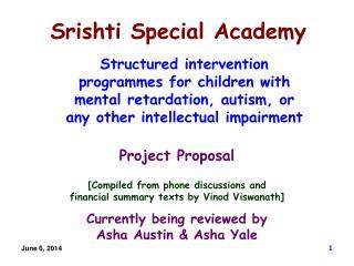 Srishti Special Academy