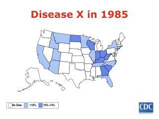 Disease X in 1985