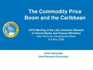 Kelvin Dalrymple Chief Research Economist