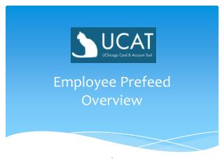 Employee Prefeed  Overview