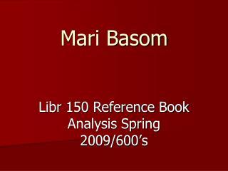 Mari Basom