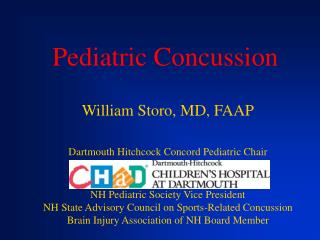 Pediatric Concussion