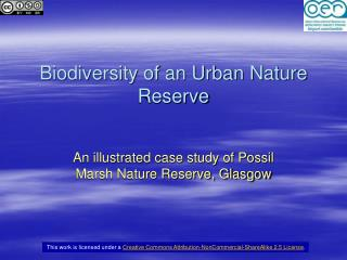 Biodiversity of an Urban Nature Reserve