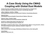 A Case Study Using the CMAQ Coupling with Global Dust Models