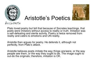 Aristotle s Poetics
