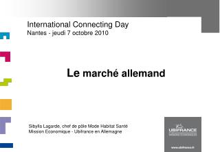 International Connecting Day Nantes - jeudi 7 octobre 2010
