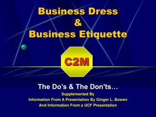 Business Dress   Business Etiquette