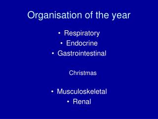 Organisation of the year
