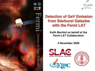Detection of GeV Emission from Starburst Galaxies with the Fermi LAT