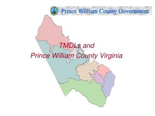 TMDLs and  Prince William County Virginia