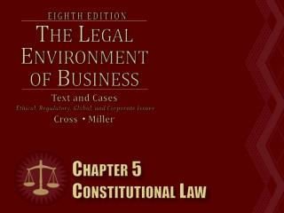 Chapter 5 Constitutional Law