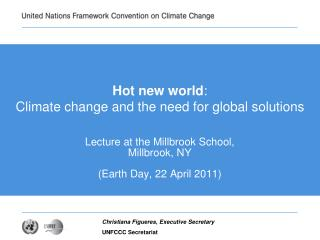 Hot new world: Climate change and the need for global solutions