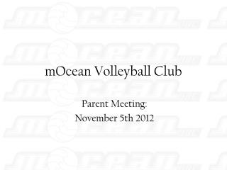 MOcean Volleyball Club