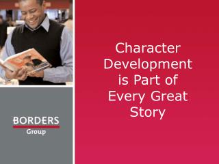 Character Development is Part of Every Great Story