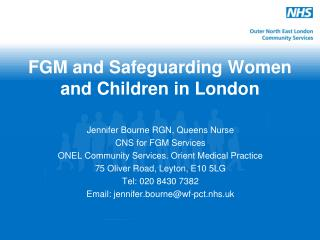FGM and Safeguarding Women and Children in London