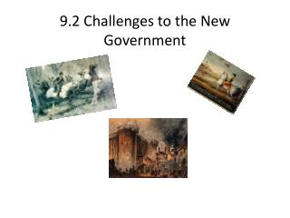 9.2 Challenges to the New Government
